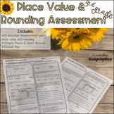 Place Value & Rounding 3NBT.1 Common Core Math Assessment