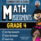 Common Core Math Assessments {Grade 4}