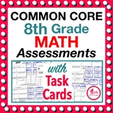 Back to School Common Core Math Assessments 8th Grade - Wa