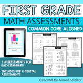 Common Core Math Assessments - All Standards - First Grade