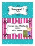 Common Core Math Assessments Grade 1 (Measurement & Data)