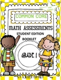 Common Core Math Assessments Student Editon Booklet 1st gr