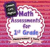Common Core Math Assessments for 1st Grade - Measurement a