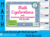 Common Core Math Explorations: Factors and Prime Factoriza