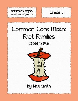 Common Core Math: Fact Families (Grade 1)