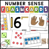 Math Flashcards Pack - dot cards, subitizing, teen numbers