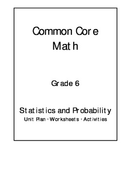 Core math statistics and by jeni hall teachers pay teachers