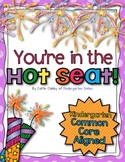 Common Core Math Hot Seats (Kindergarten)