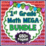 Common Core Math Resources for Grade 1 (ALL 1st Grade Reso