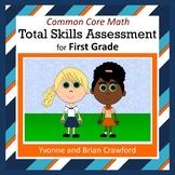 Common Core Math Skills Assessment (1st Grade)