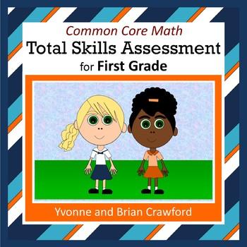 No Prep Math Assessment (1st Grade Common Core)