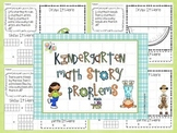Common Core Math Story Problems Set 2  K/1  45 pages