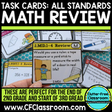 Common Core Math Task Cards ALL STANDARDS (spiral review f