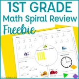 Common Core Math Warm Up Freebies