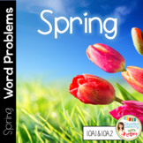 Common Core Math Word Problems for Spring