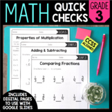 Common Core Math Worksheets (for all 3rd grade standards)