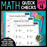 Common Core Math Worksheets (for all 4th grade standards)