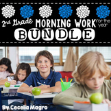 Common Core Math and Literacy Morning Work for the Entire