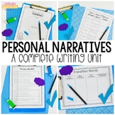 Common Core Narratives - A Complete Writing Unit