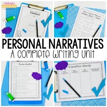 Common Core Narratives - A Complete Writing Unit