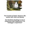 Nathaniel Hawthorne's Dr. Heideggar's Experiment-CCSS pre-