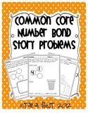 Common Core Number Bonds {Story Problems}