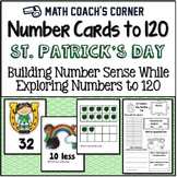 Common Core: Number Cards to 120, St. Patricks Kids w/Activities