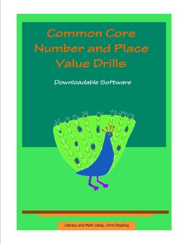 Common Core Number & Place Value Identification Drills (DEMO)