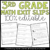 Common Core Quick Math Assessments {3rd Grade}
