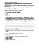 Common Core Reading Activity-Reality TV Show Articles and