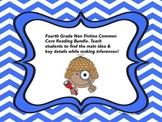 Common Core Reading Bundle: Main Idea, Key Details, & Maki
