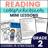 Common Core Reading Strategy Mini Lessons {2nd Grade}