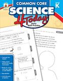 Common Core Science 4 Today Grade K SALE 20% OFF CD-104811