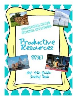 Common Core: Social Studies: Productive Resources