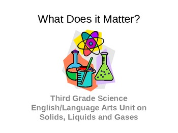 Common Core Standards English/Science Third Grade Unit Powerpoint