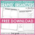 Common Core Standards Graphic Organizers FREE Sample!