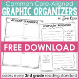 Common Core Standards Graphic Organizers FREE Sample!