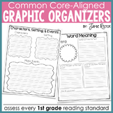 Common Core Standards Graphic Organizers for Reading: 1st