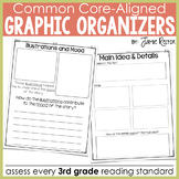Common Core Standards Graphic Organizers for Reading: 3rd