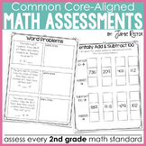Common Core Standards Math Quick Assessments