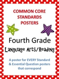 Common Core Standards Posters AND Essential Questions-Four