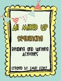 Common Core Standards Sequencing Activity Packet Mixed Up Stories