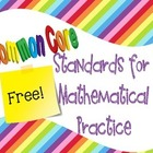 Common Core Standards for Mathematical Practice in I Can S