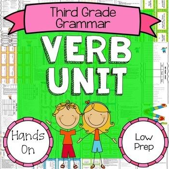Verbs {Third Grade Grammar Unit 2}