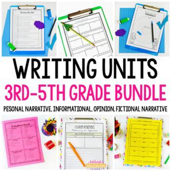 Writing Units Bundle