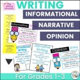 Common Core Writing {Narrative, Persuasive, and Informatio