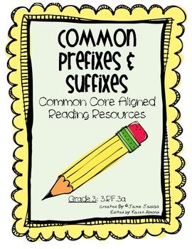 Common Prefixes and Suffixes (Common Core)
