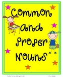 Common and Proper Nouns Pack Common Core Aligned