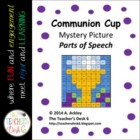 Communion Cup Mystery Picture Parts of Speech