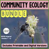 Community Ecology Complete Unit Plan Teaching Bundle